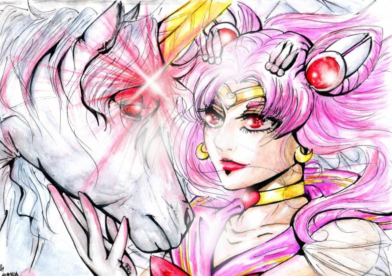 Pegasus and Chibimoon