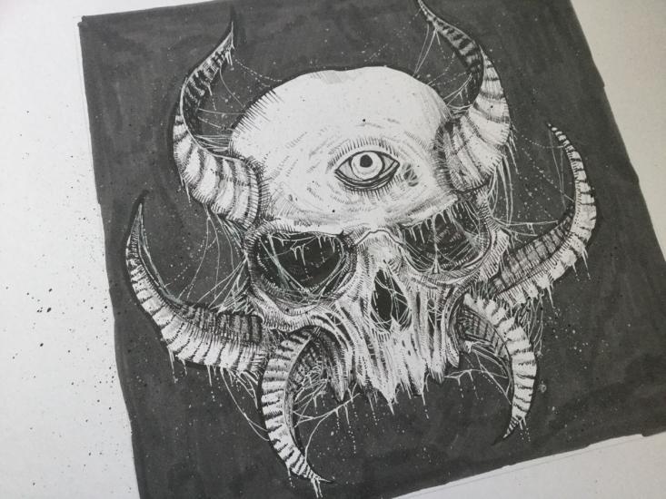 Death Metal Skull