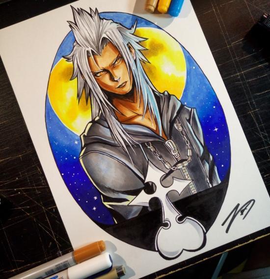 Xemnas - from Kingdom Hearts 2