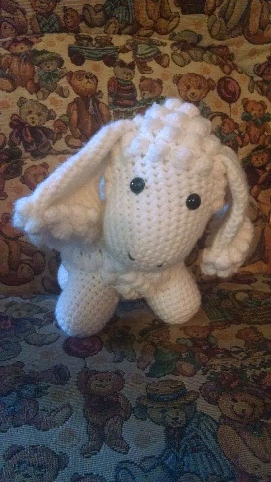 Crochet Sheep Doll