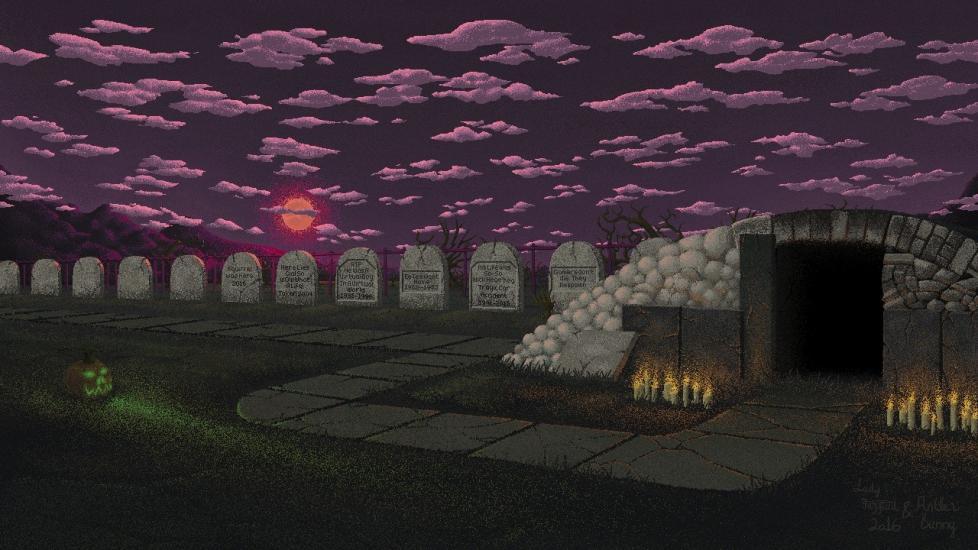 [Pixel] The Gaming Graveyard