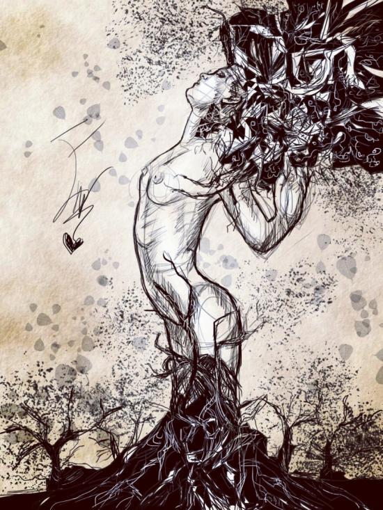 Woman's tree