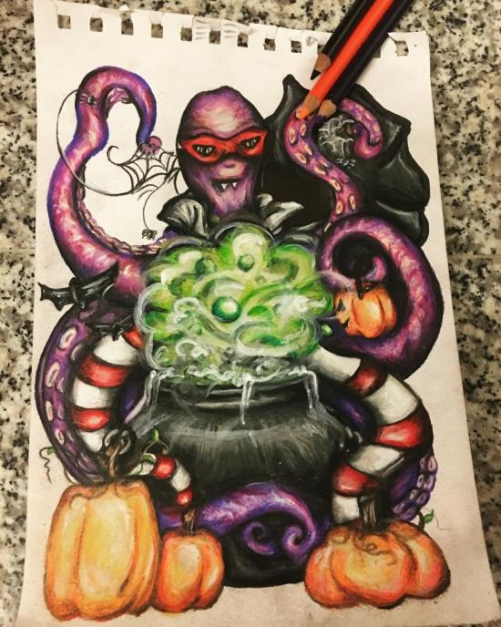 Wicked Octopus
