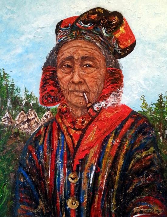 Montagnaise woman