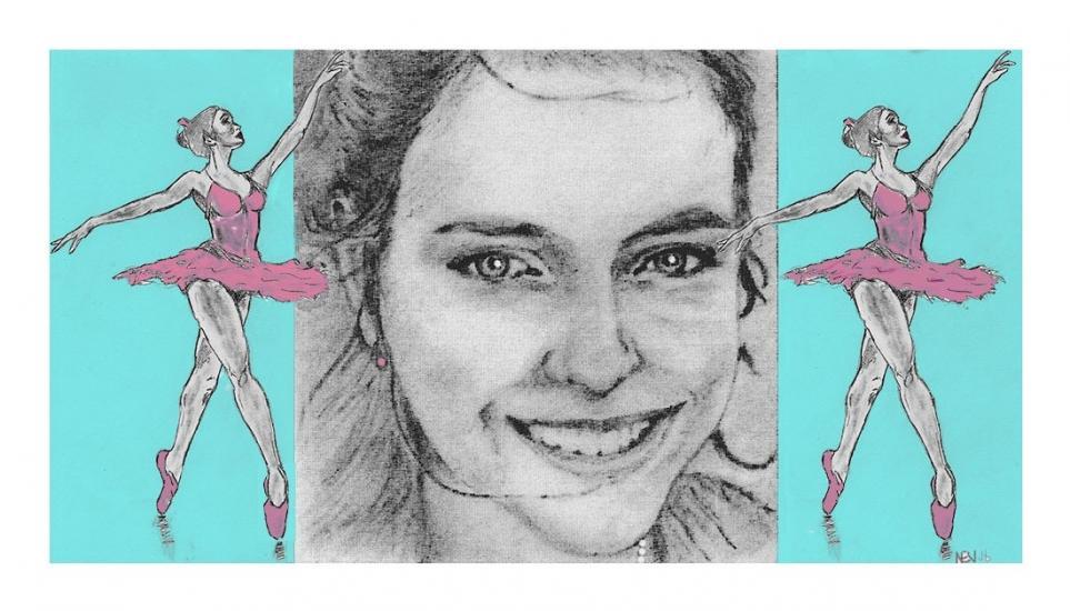 Beautiful Ballerina No1