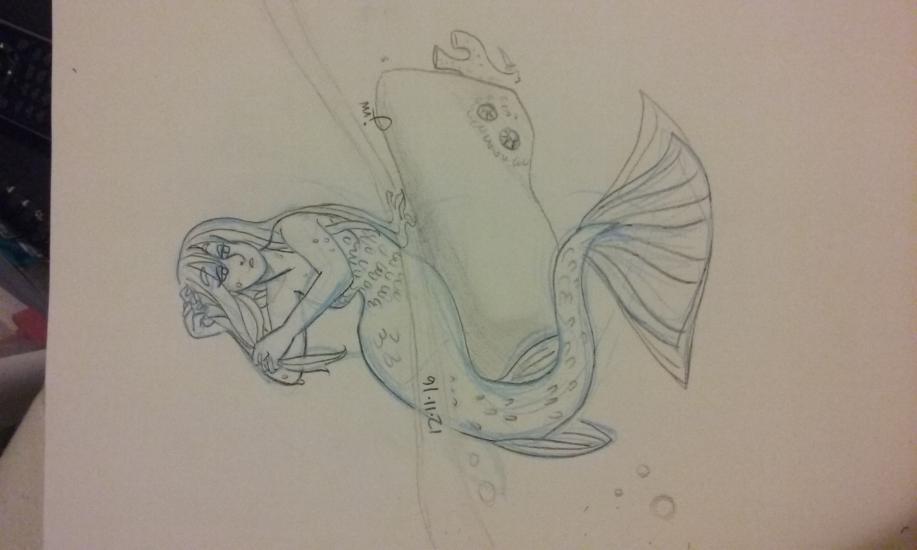 Merrow, Irish mermaid
