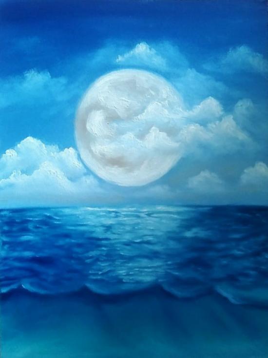 sea in Moonlight