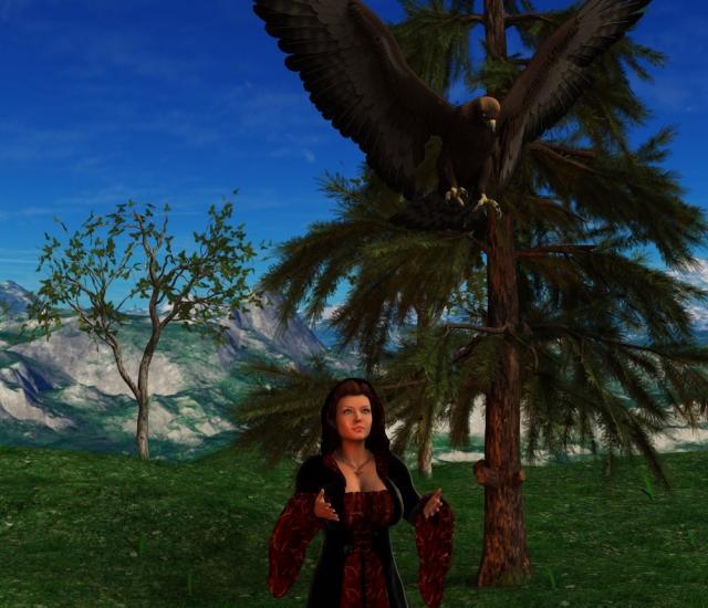 Shanorya releases a healed hunter