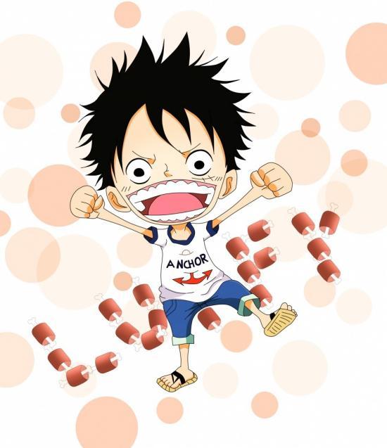 Child or chibi - Luffy