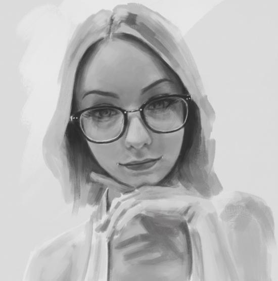 Bae's portrait