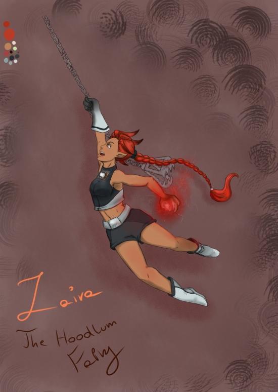 Rayman OC - Zaira the Fairy
