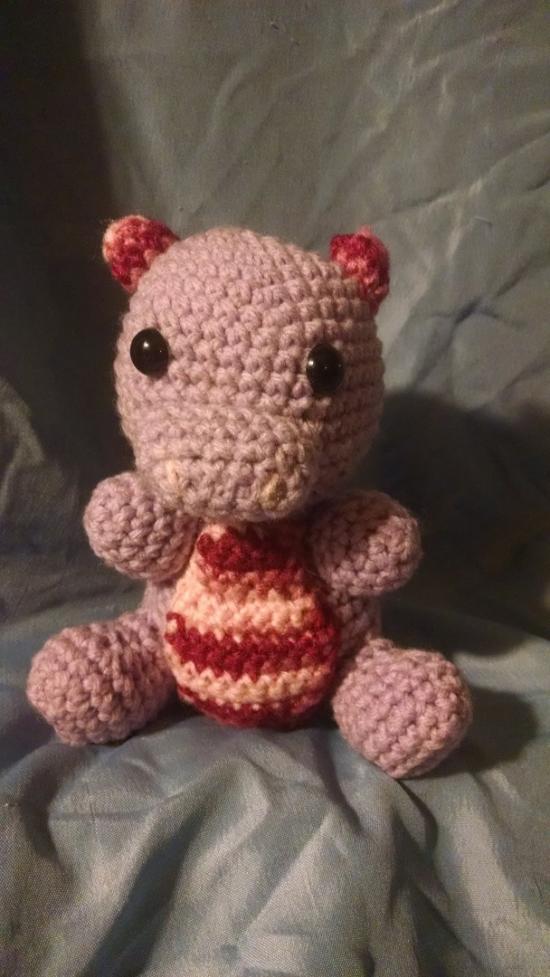 Crochet Dinosaur Doll