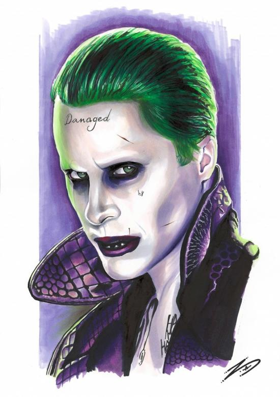 Suicide Squad Joker Portrait