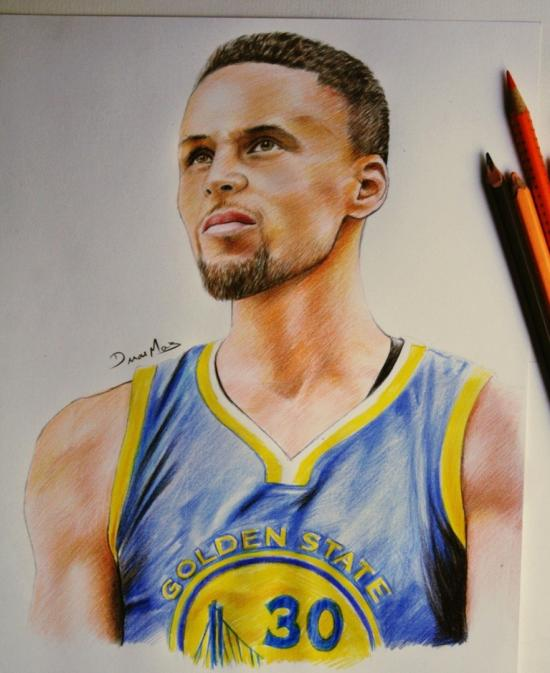 Curry 30 (speed drawing link)