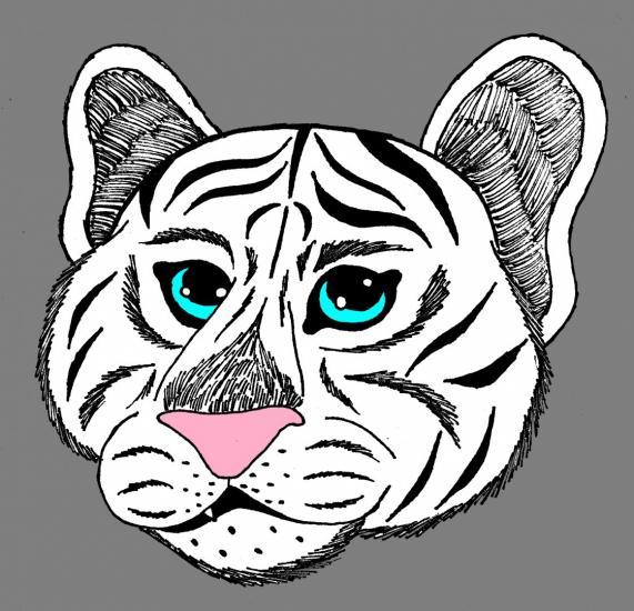 Tiger(White)