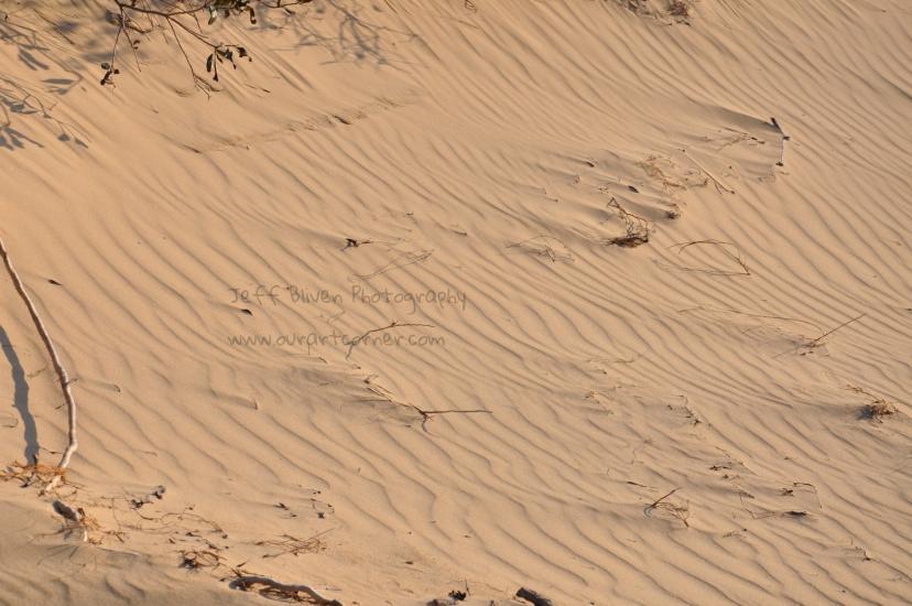 Layered Sand