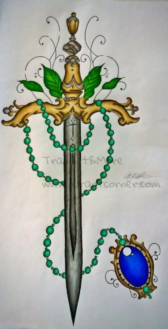 Beaded Sword (Finished)