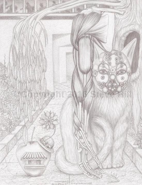 Dr. Applehead's Cat