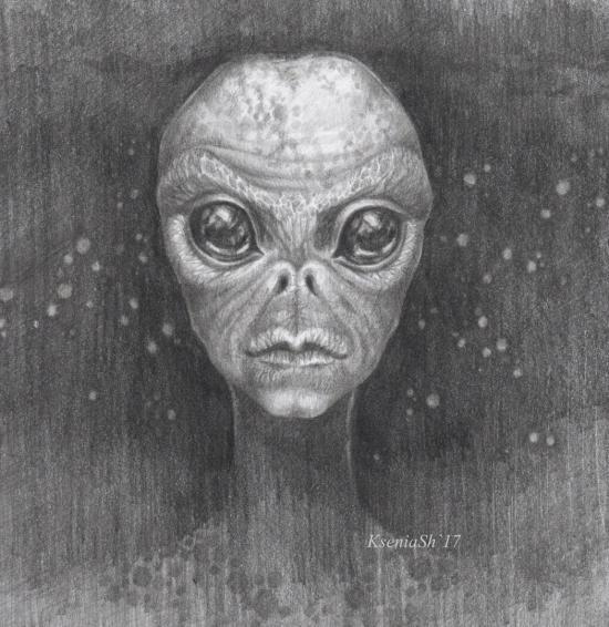 картинки инопланетян в карандашей именно