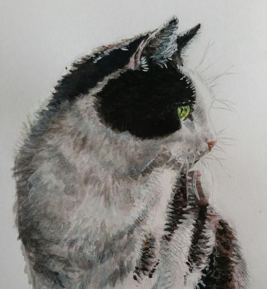 My cat  (painting)