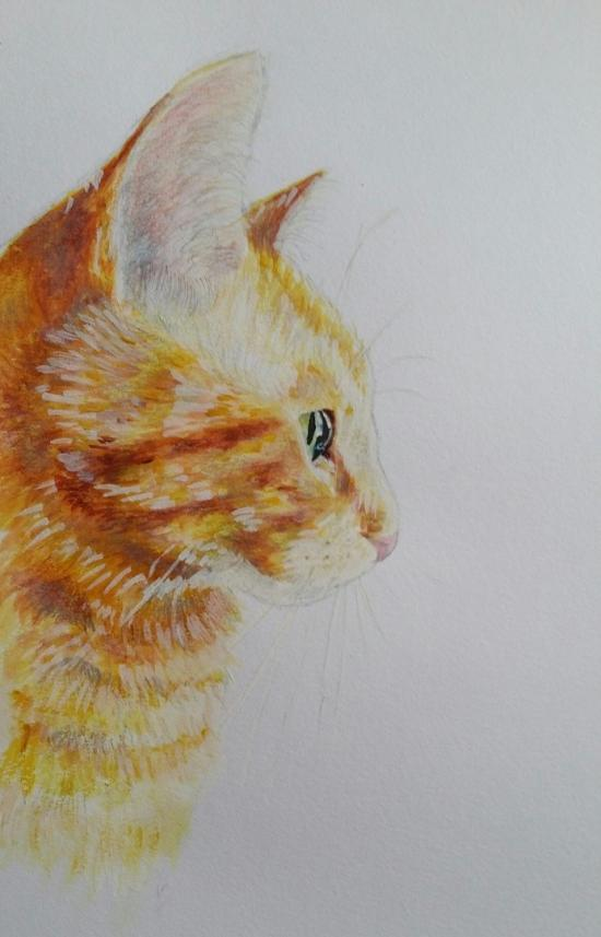 My other cat (painting)