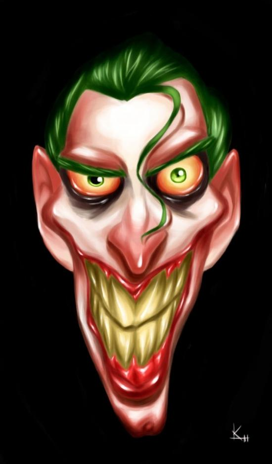 Joker cartoon