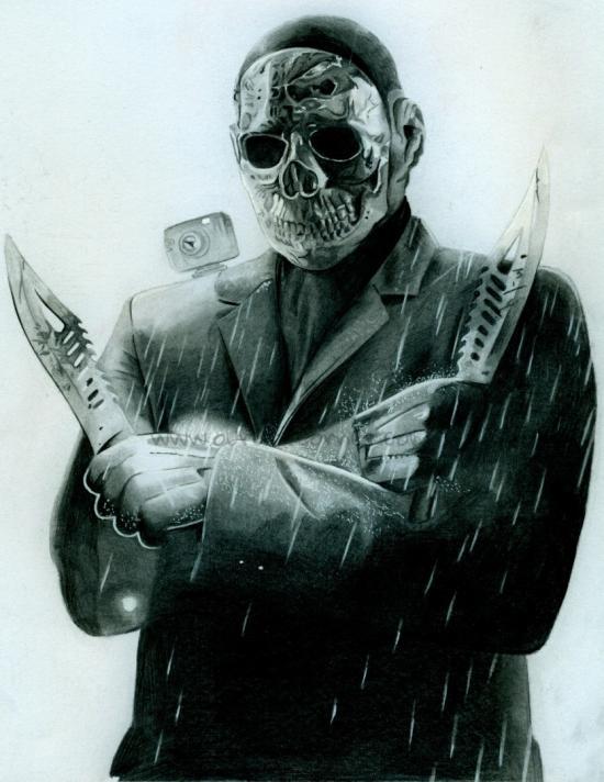 horror series #20 chromeskull