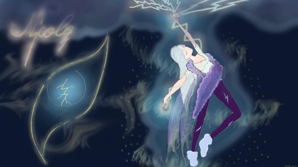 Nicole, the Storm Fairy