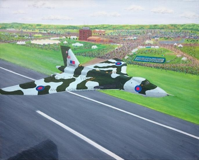 Airshow Vulcan