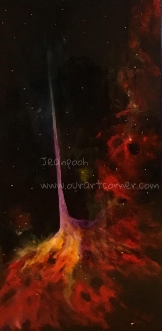 Lightening Galaxy