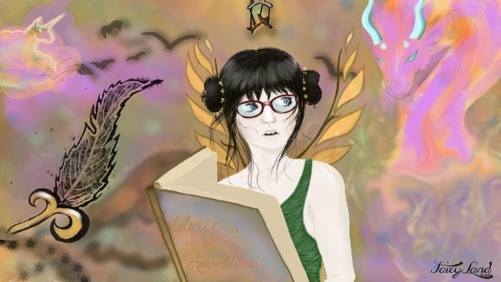 Ellery - The Literature Fairy