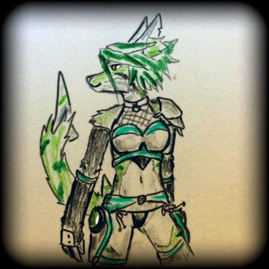 Shesui's armor & bikini