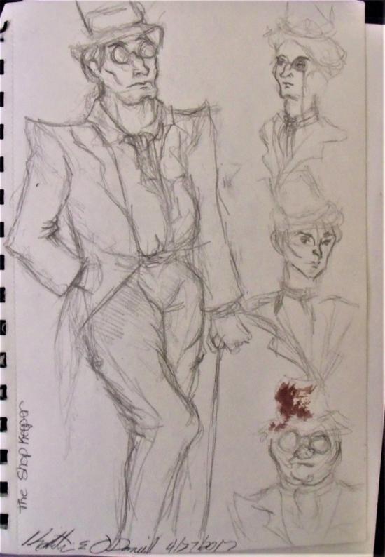 Shopkeeper sketches