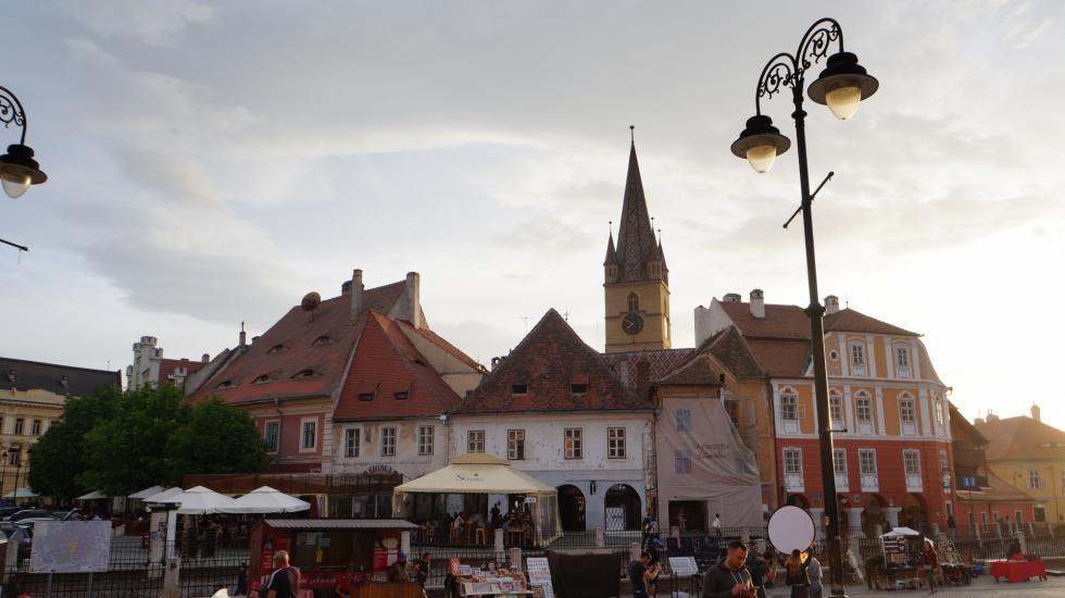Scene from Hermannstadt