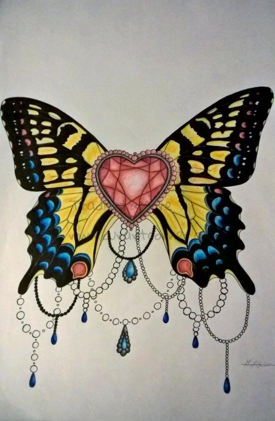 Butterfly Heart Jewel
