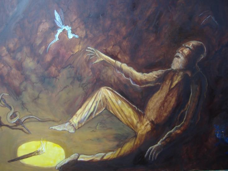 Tarot card: The Hermit