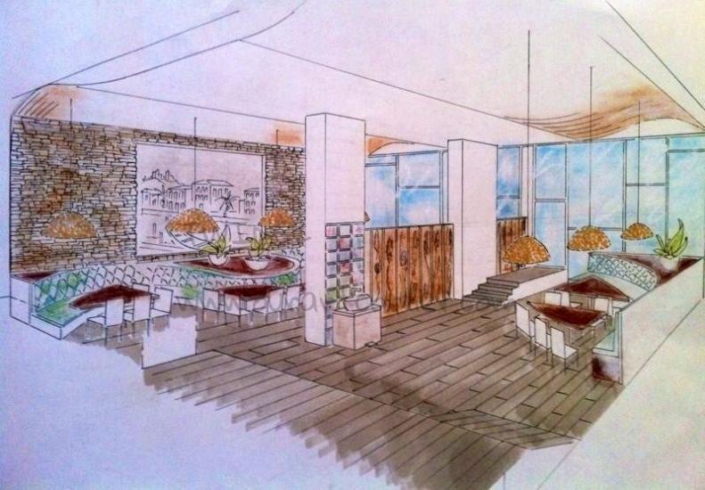 Na Brasa - Restaurant Design