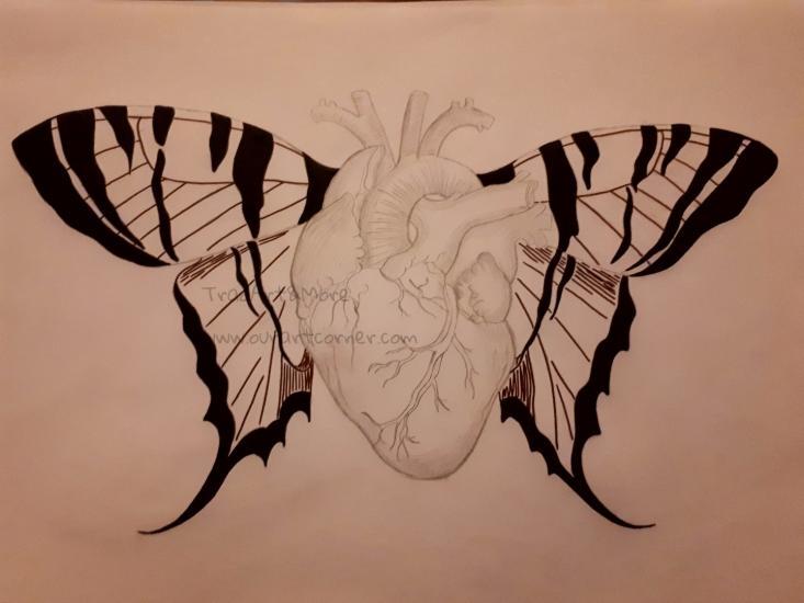 Butterfly Wing Heart (Part 1)
