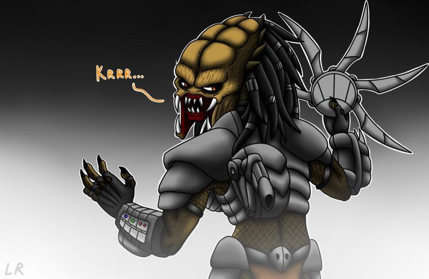 Naga'ti the predator