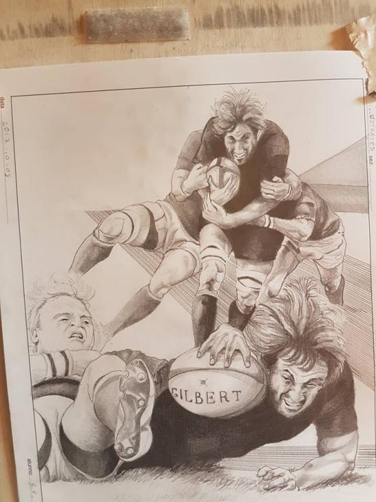Sport illustrated - Sam Whitelock