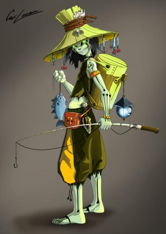 Swamp Ghost Fisherman