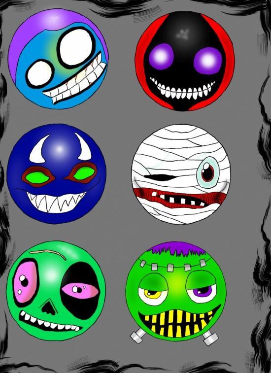 Halloween emoji's
