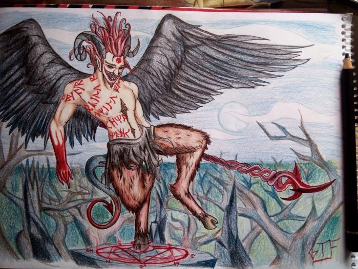 Demon of sins