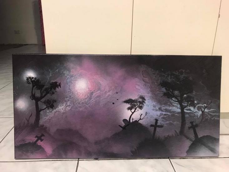 pink galaxy mist