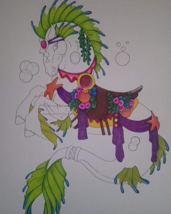 W.I.P Sea horse....