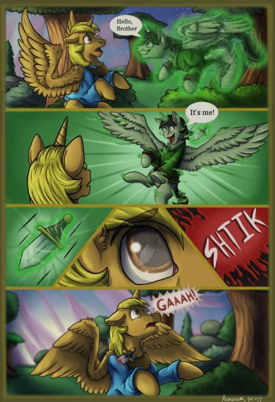 When We Were Kids - Thor Comic Pg. 3