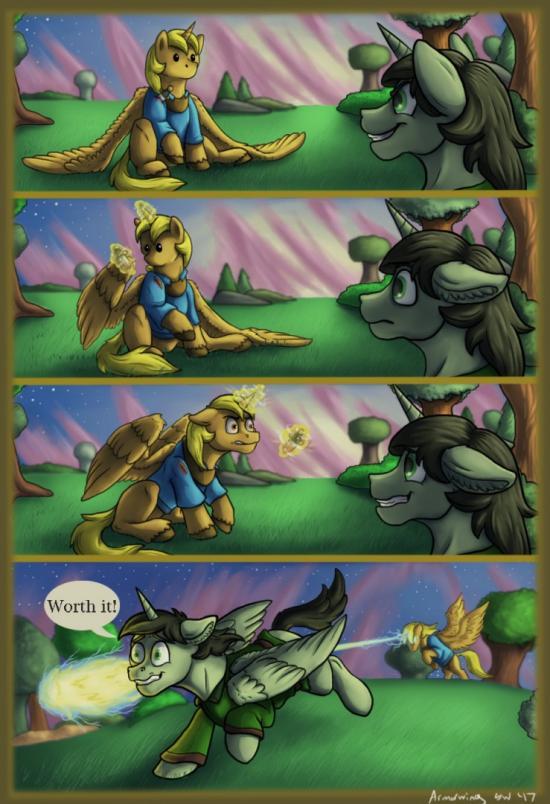 When We Were Kids - Thor Comic Pg. 4