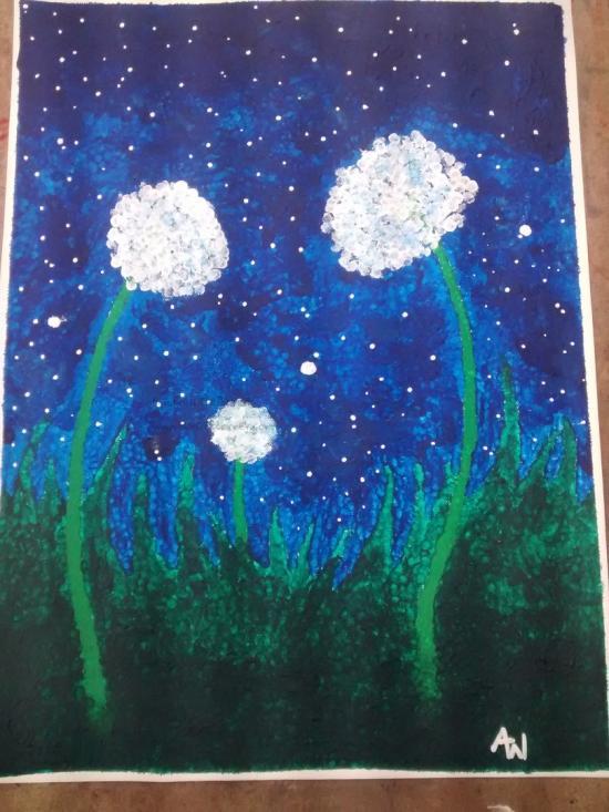 Night Time Dandelions