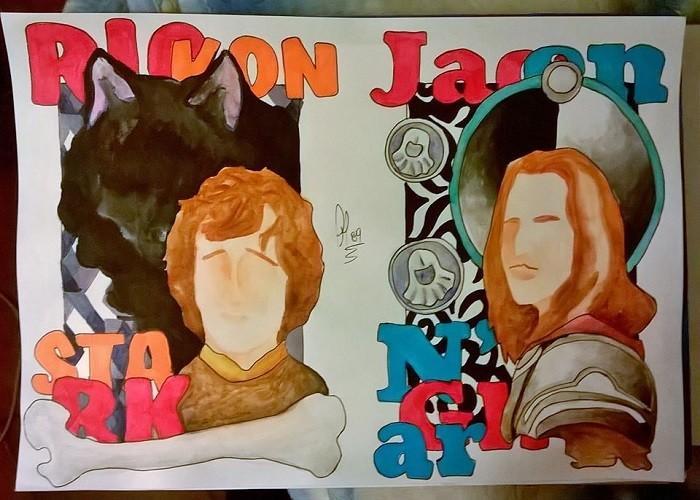 Rickon & Jaqen