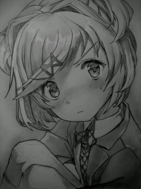 Doki Doki Literature Club - Natsuki